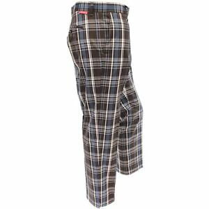 Dwyers-amp-Co-Funky-Checked-Designer-Flat-Front-Golf-Trousers-Dublin