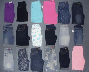 NWT-Girls-Arizona-Bermuda-Denim-Jean-Shorts-U-Pick-Color-Size-w-Adj-Waist