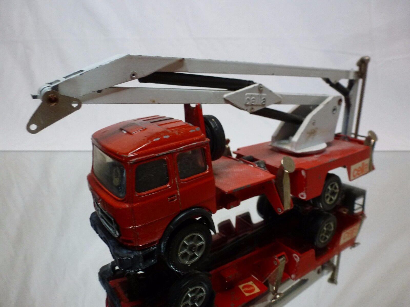 i nuovi stili più caldi FORMA giocattoli CELLA 3D FIAT 170 FIRE ENGINE ENGINE ENGINE  - rosso 1 43 - BAD CONDITION - BARLUX  edizione limitata