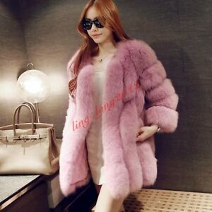 Parka Noble Vogue Coat Warm Fur Women Winter Aggiungi Furry xqgwOdg06