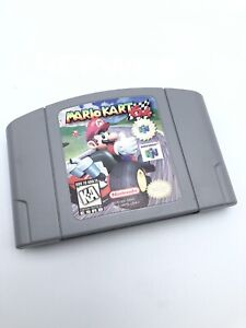 Mario Kart 64 (Nintendo 64, 1997) Cleaned / Tested / Authentic N64