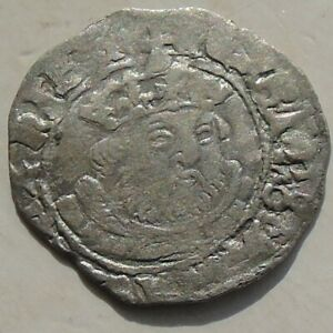 Henry VIII Posthumous Coinage Halfgroat Hammered Silver, Tudor Canterbury S2415