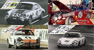 Calcas Porsche 911 GT1 98 Le Mans 1998 25 26 1:32 1:43 1:24 1:18 slot decals