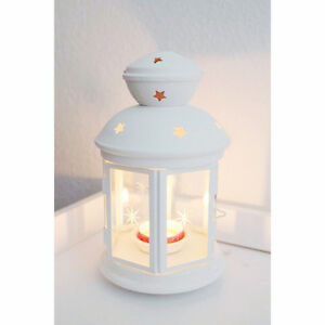 White-Metal-21cm-tealight-candle-hanging-lantern-party-table-balconey-decoration