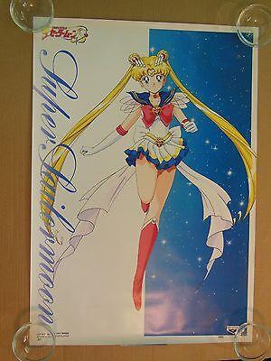 Sailor Moon S Japanese Banpresto Poster #10 (1994) RARE - Black Friday Sale!!!