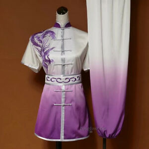 Details about Summer Wushu Tai chi Competition Suit Martial arts Shaolin  Kung fu Uniform