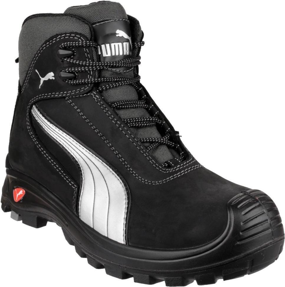 Cascade Mid 630210 Homme en Cuir Composite Toe S3 HRO SRC sécurité Chaussures Noir