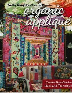 Organic-Applique-beautiful-technique-and-project-BOOK-from-Kathy-Doughty