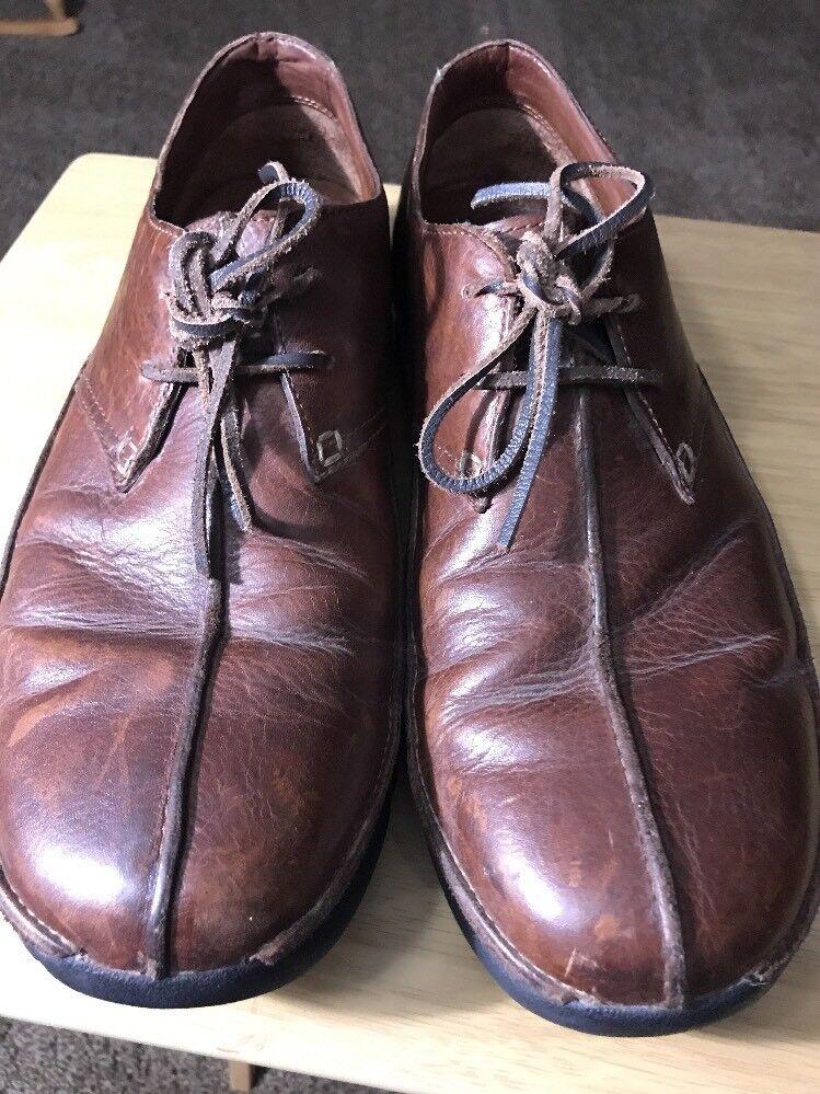 Polo Ralph Lauren Leder/ SUEDE 12D Braun/Almond driving Schuhe Größe 12D SUEDE  Uomo Schuhes 6a1511