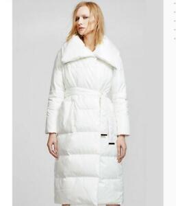 Womens-Lady-Snow-Parka-Long-Outwear-Duck-Down-Shiny-Loose-Jacket-WaterProof-Hot