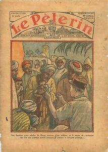 Morocco-Maroc-Vaccination-Vaccins-S-A-S-Casablanca-Africa-1934-ILLUSTRATION