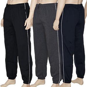 Herren-Sweatpants-Hose-Jogginghose-Trainingshose-Urban-Fleece-Sport-Freizeit-Neu