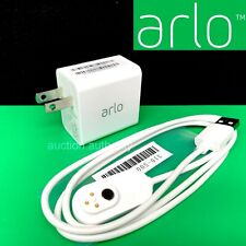 Arlo 3' Indoor Magnetic Charging Cable W Charger Ultra or Pro 3 Cameras VMA5000C