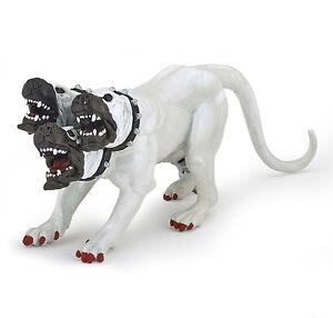 Papo-36012-White-Cerberus-Three-Headed-Dog-Mythical-Fantasy-Model-Toy-2016-NIP