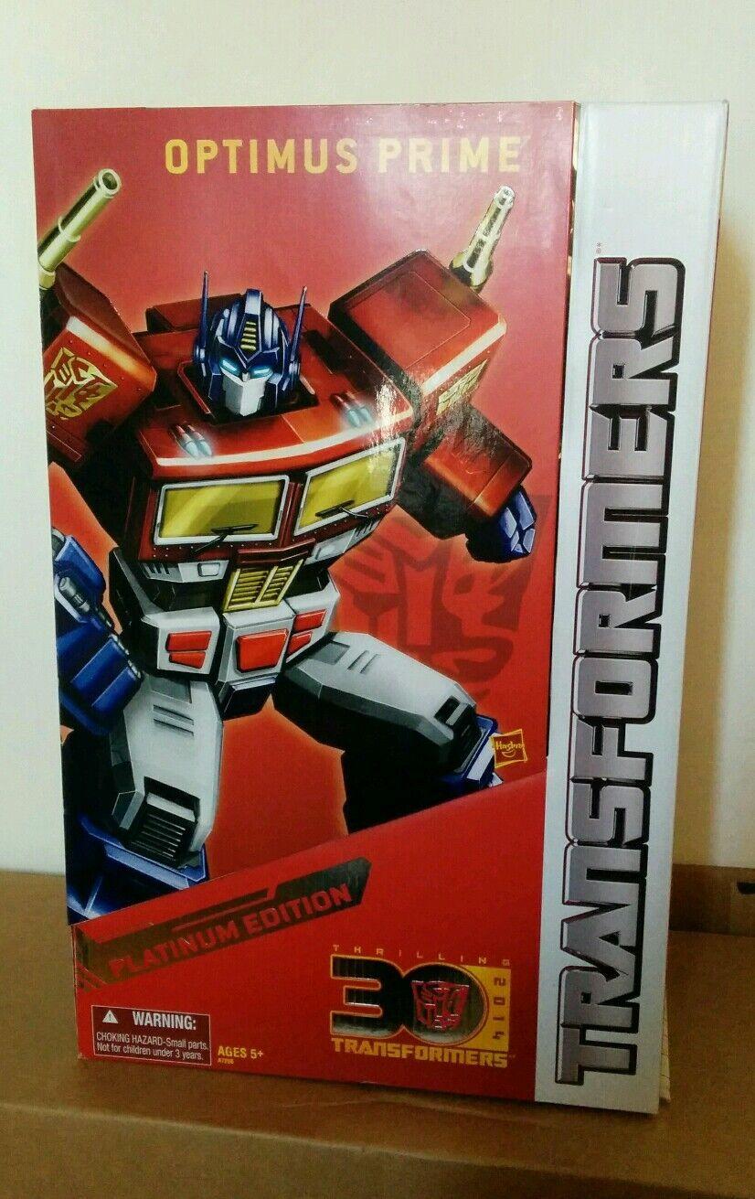 TRANSFORMERS Masterpiece Optimus Prime Year Of The Horse Platinum Edition