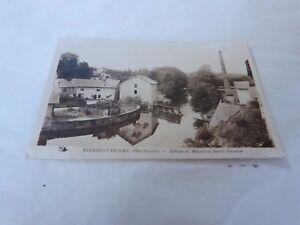 Stein-Buffiere-87-Torschloss-und-Muehle-Sankt-Maurice-Postkarte-CPA