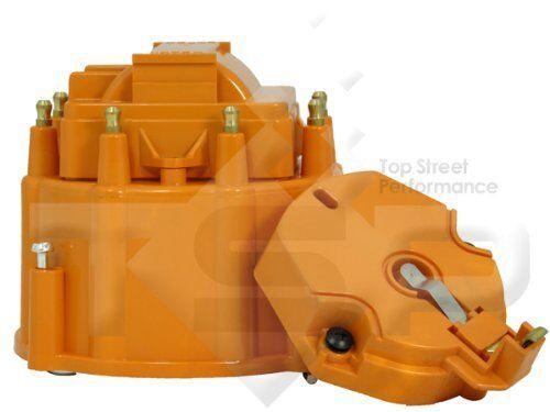 Small Big Block Chevy GM HEI Distributor orange Cap Rotor kit  327 305 350 454