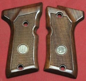 Beretta Factory 92 Compact Wood Grips