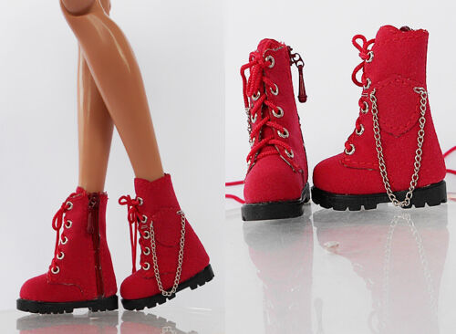 1-TSB-8 Sherry Fashion Red Worker Shoes//Boots for Tyler//Sybarite//Ficon Doll