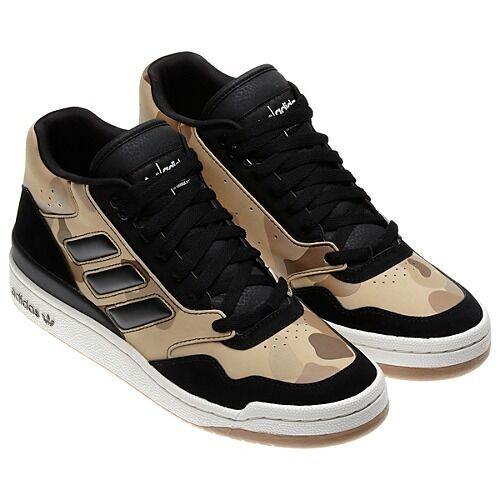 new~Adidas Originals ARTFORUM CAMO forum pro model Camouflage Shoes~Mens size 12
