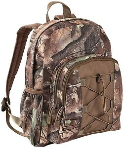 Youth Kids Camo Camoflouge Scout Day Pack Backpack Bookbag | eBay