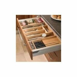 Image Is Loading Cutlery Trays Suits Tandembox Kitchen Draws Solid Beech