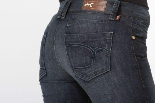 Soft Cotton Blue Bootcut Jeans Mid Rise 24-31 NWT by Antik Denim Designer