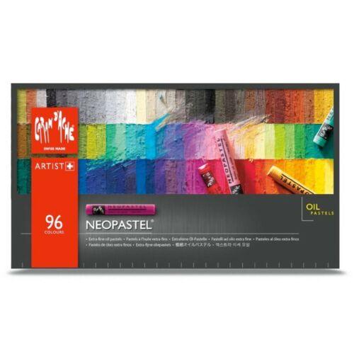 Assorted Colors Set of 96 7400.396 Caran D/'ache Neopastel
