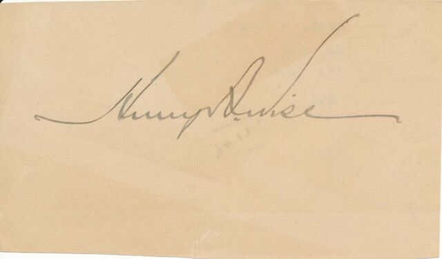 Henry A. Wise - Signature of the Confederate General & Governor of Virginia