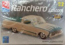 AMT Ertl 1:25 Model Car Kit 1961 Ford Ranchero Custom #38404 Unbuilt