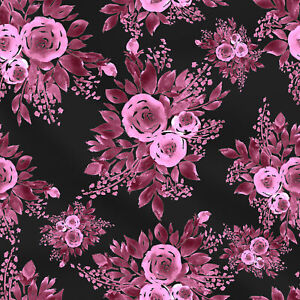 By the Yard Florals and Country Prints Quilting Cotton| Great for quilting or apparel Cotton Fabric