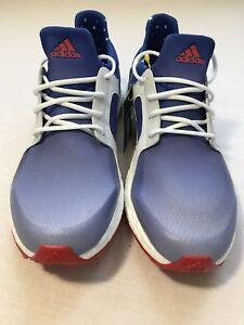 ecc2ca50f8f939 Adidas Women's Climacross Boost US Open Golf Shoes Red/White/Blue ...