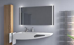 Led bagno specchio per il con illuminazione muro ebay