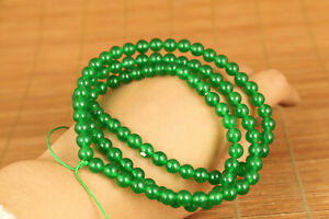 Rare-Chinese-Handwork-Natural-Ice-Green-Jadeite-Jade-necklace-Pendant