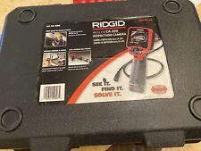 Ridgid Micro Ca 350 35 Inch Inspection Camera 55898 Mint Condition