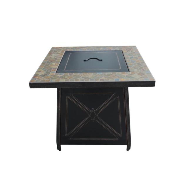 Blue Rhino 48 In W 50000 Btu Steel Propane Gas Fire Table For Sale Online Ebay