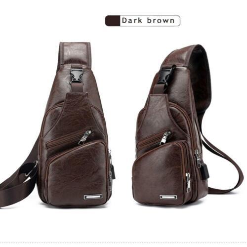 Details about  /Mens Sports Casual Satchel Shoulder Bag Crossbody Bag