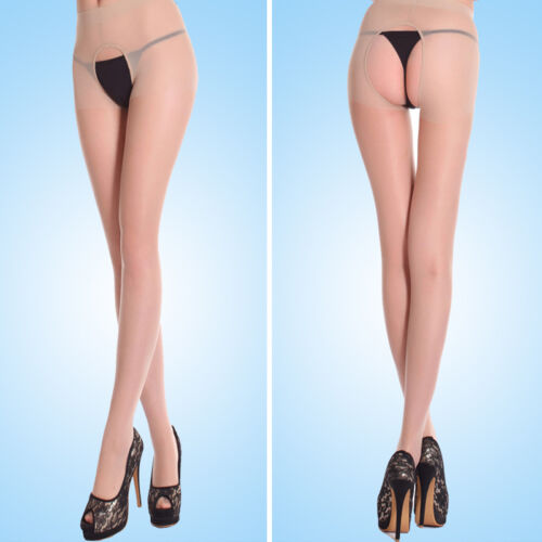 Design Women Stockings Cored Two Sides Open Crotch Pantyhose Stockings