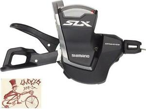 SHIMANO-SLX-M7000-11-SPEED-BLACK-BICYCLE-RAPID-FIRE-RIGHT-SHIFTER