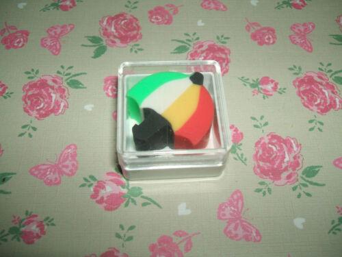Rare Vintage 1980s Cased Parasol eraser rubber gomme gommine radiergummi