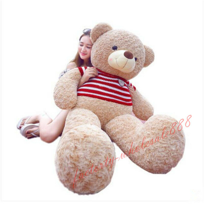 78'' Giant Huge big Teddy Bear animals Plush Soft toys doll Birthday gift 200cm