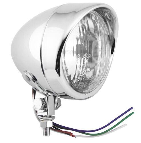 Biker/'s Choice 76076V 4in Spot Lamp With Visor