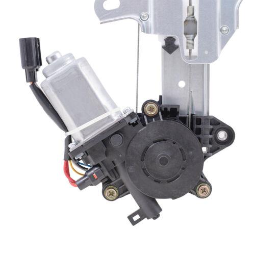 Power Window Regulator w// Motor for 16-20 Honda Civic Sedan Front Drivers Side