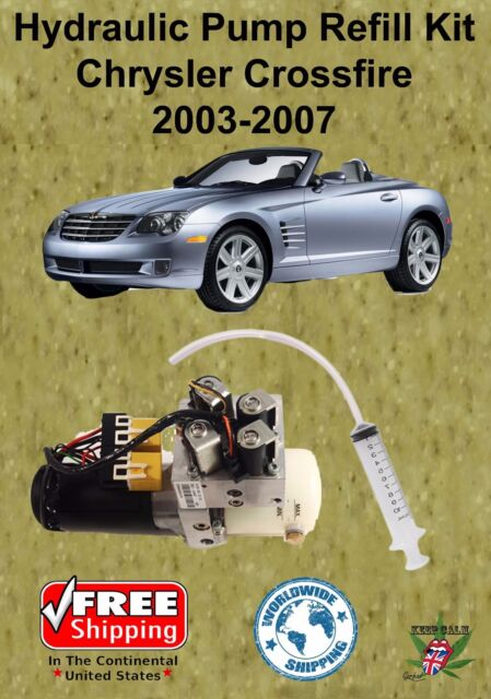 03 08 Chrysler Crossfire Hydraulic Pump Refill Kit Convertible With Oil For Sale Online Ebay