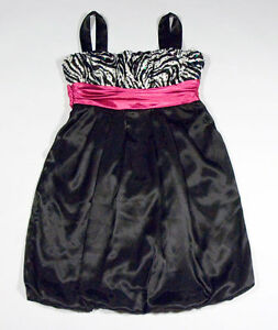 Zebra Print Party Dresses For Juniors 104