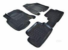 Gummi Fußmatten-Satz extra hoher Rand für Nissan Qashqai I J10 Bj.2007-2013