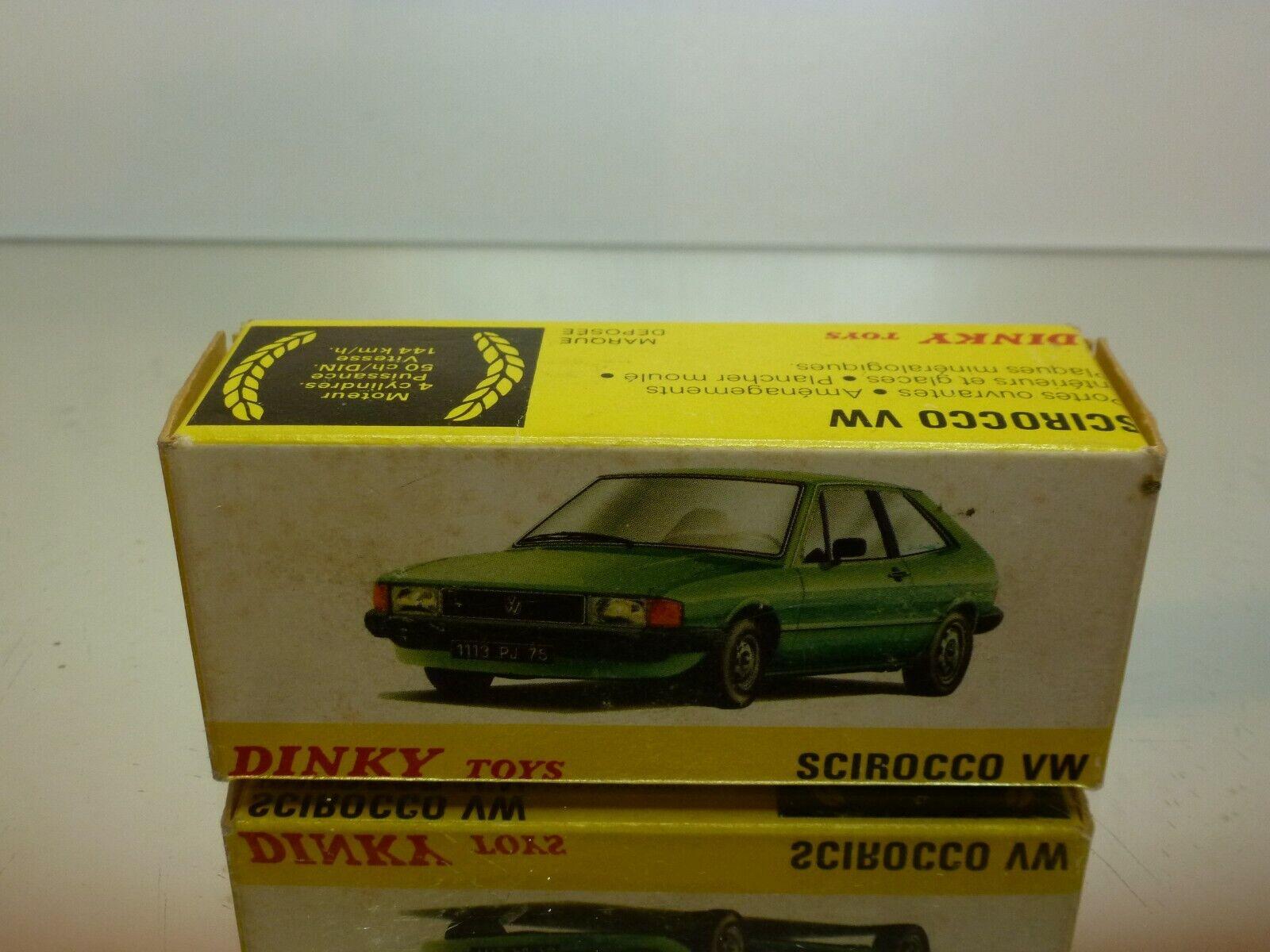 primera reputación de los clientes primero DINKT TOYS 11539 BOX for VW VOLKSWAGEN SCIROCCO SCIROCCO SCIROCCO - GOOD CONDITION - ONLY BOX  Vuelta de 10 dias