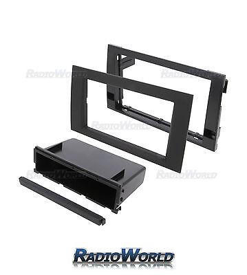 VW Transporter Radio CD Panneau Avant fascia panel Surround Double Din Trim FP-17-00