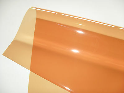 "Musical Instruments & Gear Hospitable Full Sheet 48"" X 21"" 205 Half 1/2 Orange Cto Lighting Filter Gel Tv Theatre Dj"