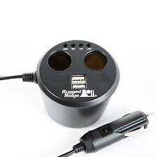 JEEP Power Cup, 2 x USB + 2 X PORTE ACCESSORI, UNIVERSALE